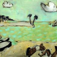 Caletón 60x60cm oil/canvas 2020
