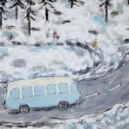 Morskie Oko 120x140cm oil/canvas 2013