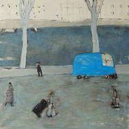 S.P.Q.R. 140x140cm oil/canvas 2015