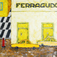Ferragudo 90x90cm oil/canvas 2014