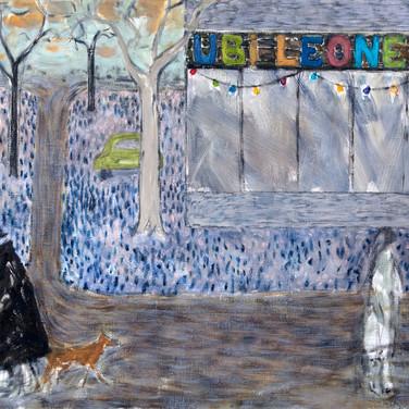 Ubi Leones 120x140cm oil/canvas 2013