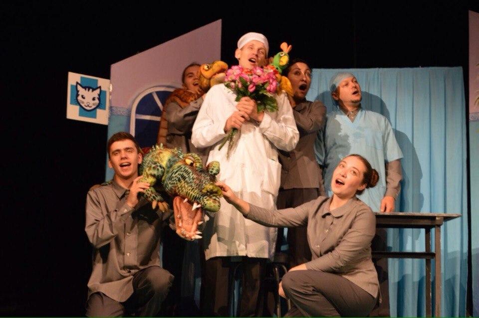 кукольный спектакль буинского театра