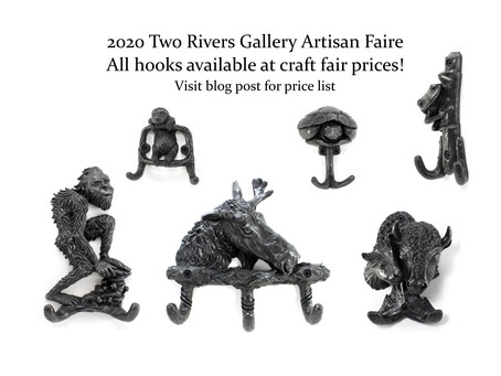 Two Rivers Gallery Artisan Fair - Price List