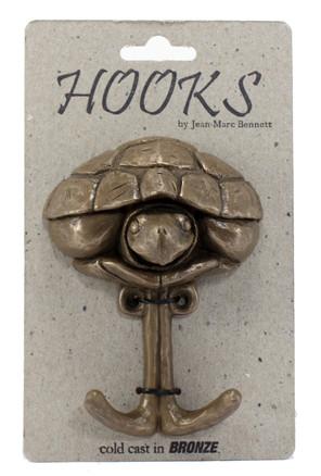 Turtle Coat Hook Cast in Bronze