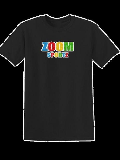 Chenille letter Zoom Sportz Shirts