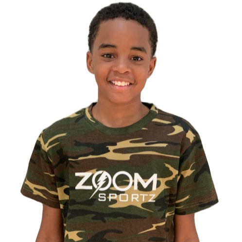 Youth Camo Zoom Sportz Shirt