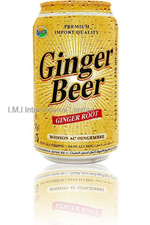 GINGER BEER  (sans malt) - 33CL