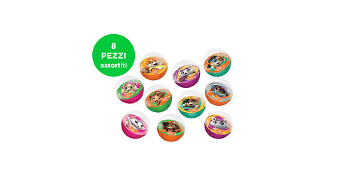 Bouncing Balls - 8 pezzi