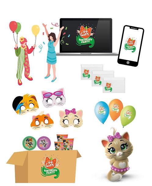 Kit Party Online - 44 Gatti