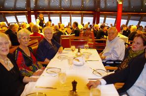 onboard the Veendam at dinner.JPG