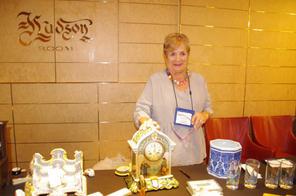 Ann Marie at the sale.JPG