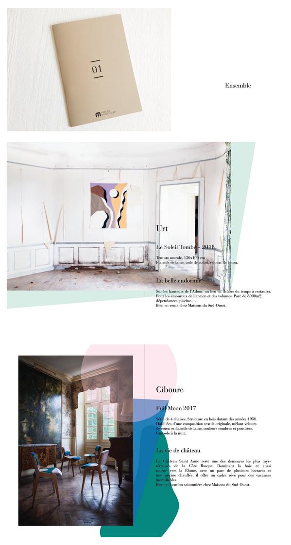 Edition Catalogue Maison du Sud-Ouest Biarritz