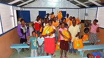 Familias haitianas