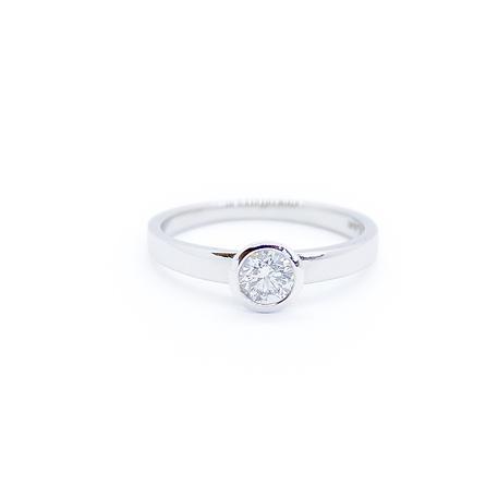 Platinum 0.40ct Diamond Engagement Ring