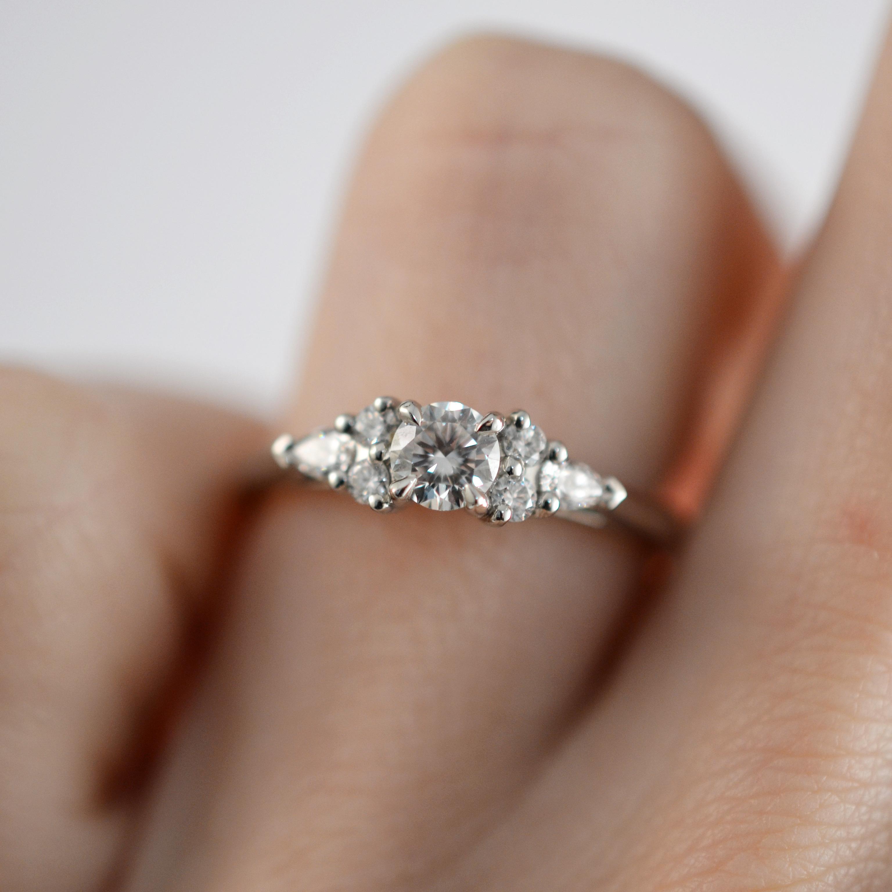 Bespoke Platinum 0.50ct Canadian Diamond Engagement Ring