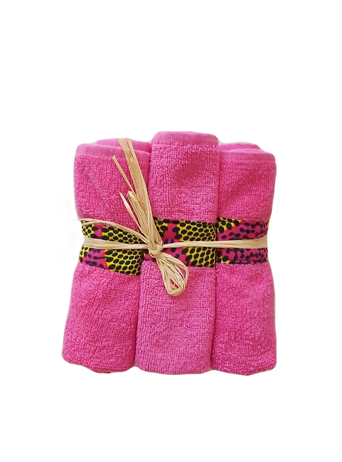 Lot de 6 mini-serviettes à main