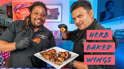 How to make Herb Baked Wings