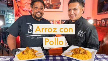 How to Make Arroz Con Pollo