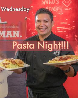 Pasta Night!!!