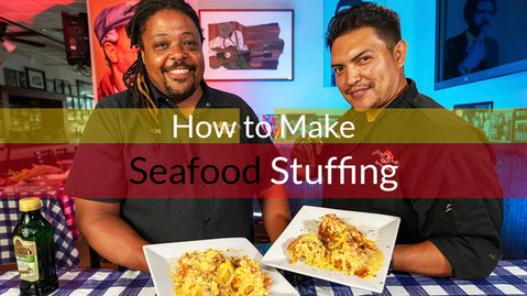 How to make Seafood Stuffing