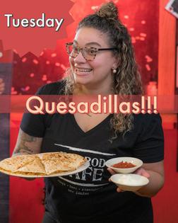 Overstuffed Quesadillas!