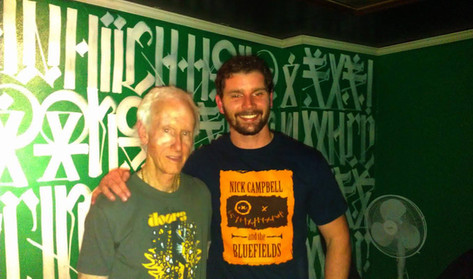 Derek with Robby Krieger from The Doors
