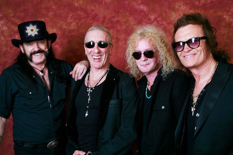 Lemmy, Dee Snider, Swan, Glenn Hughes