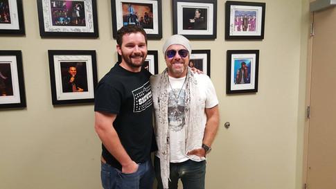Derek with Jason Bonham