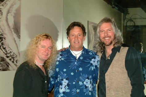 """Swan & Jim W with actor Robert Hayes (""""Airplane"""")"""