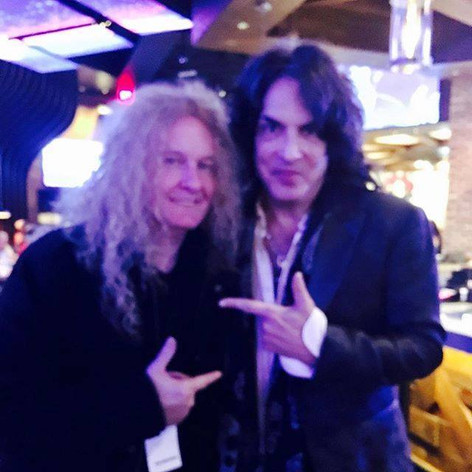 Swan with Paul Stanley of Kiss