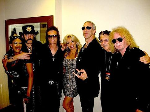 Lemmy, Glenn Hughes, Dee Snider, Jerry Greenberg, Swan