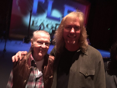 Jim with Randy Meisner (The Eagles)