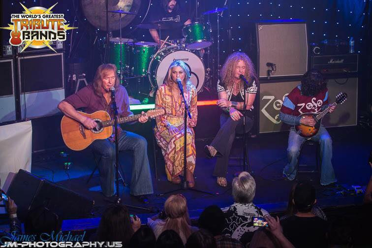 Led Zepagain on AXS TV's World's Greatest Tribute Bands