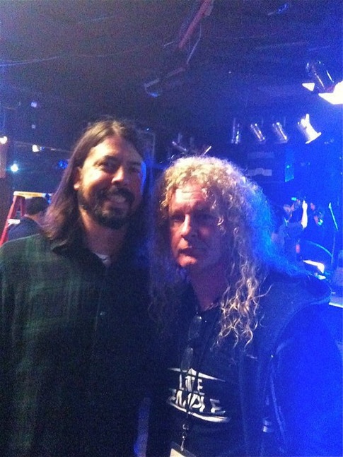 Swan with Dave Grohl