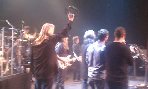 Derek Performing With The Doobie Brothers