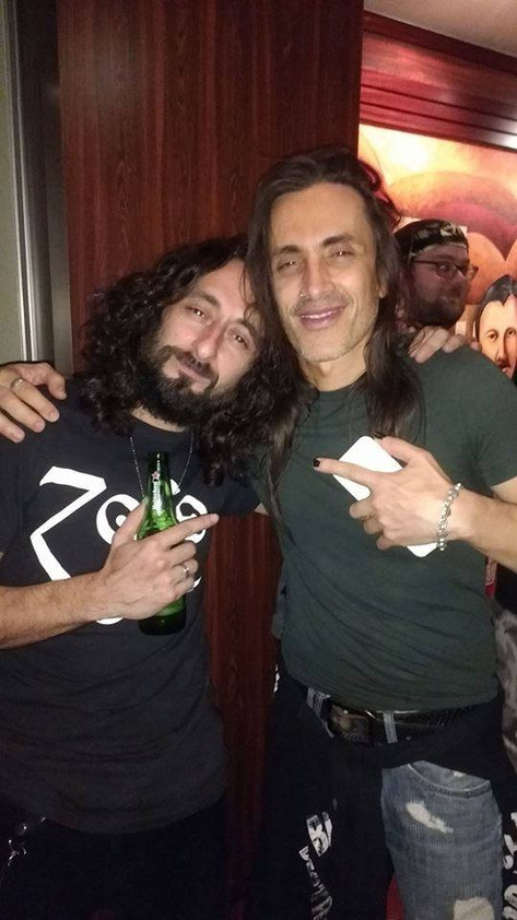 Anthony with Nuno Bettencourt (Extreme)