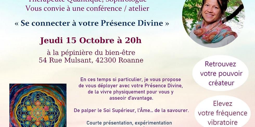 Conférence/ Atelier Se relier à sa Présence Divine