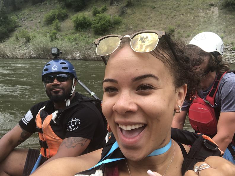 Rafting in Montana