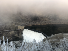 Enloe Dam- Foggy Day