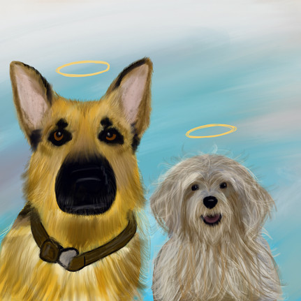 Dogs that went to heaven