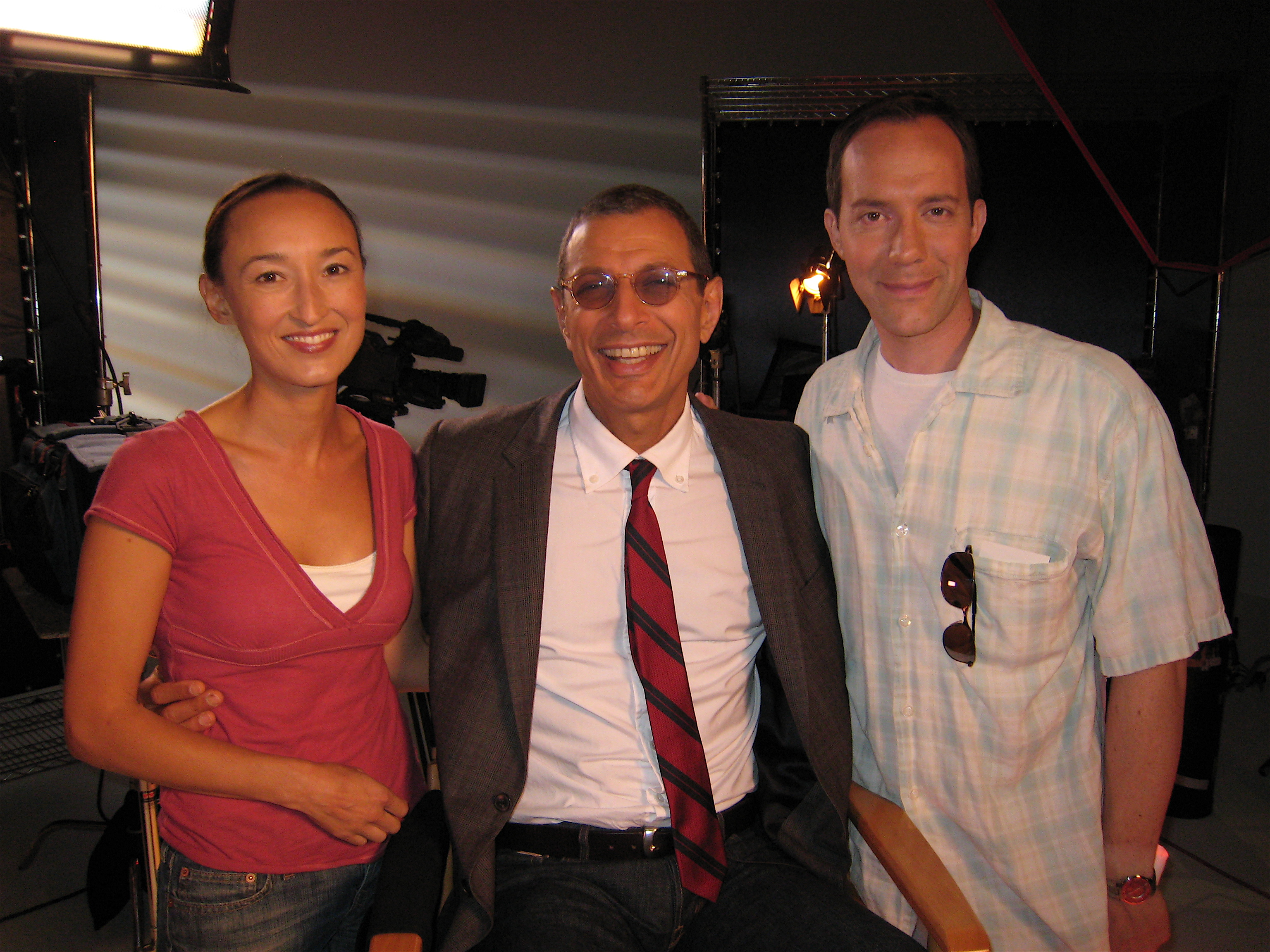 Shooting with Jeff Goldblum!