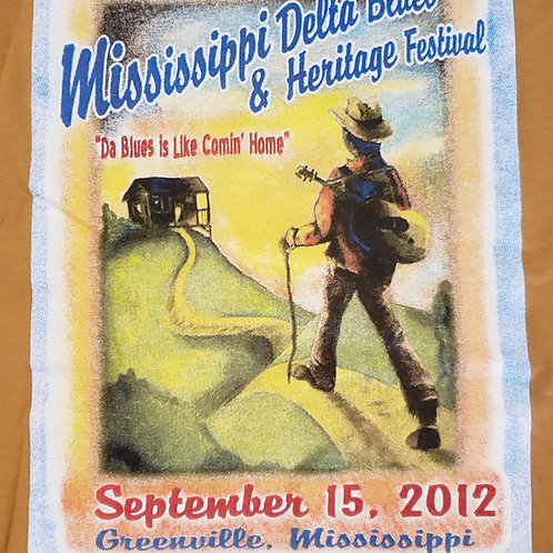 2012 Mississippi Delta Blues T-Shirt