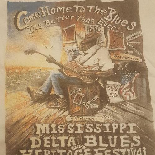 2006 Mississippi Delta Blues T-Shirt