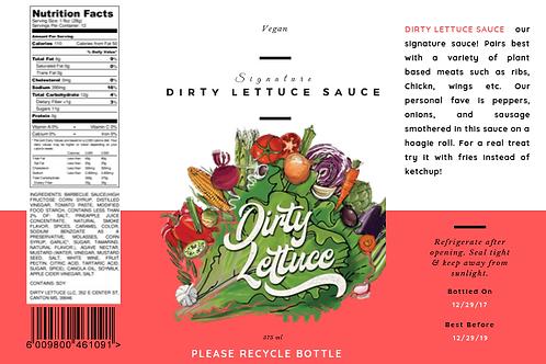 Dirty Lettuce Sauce