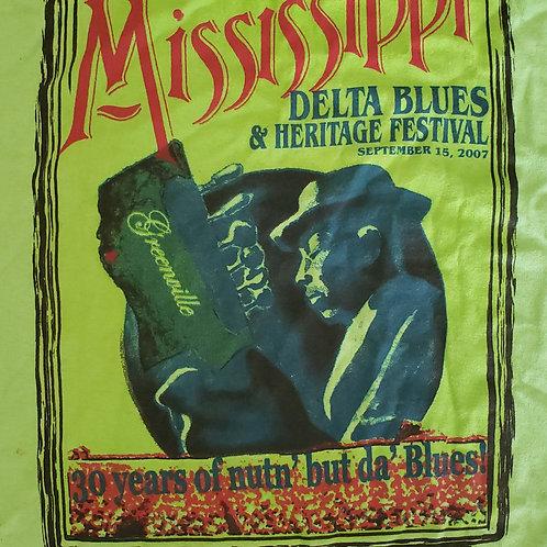 2007 Mississippi Delta Blues T-Shirt