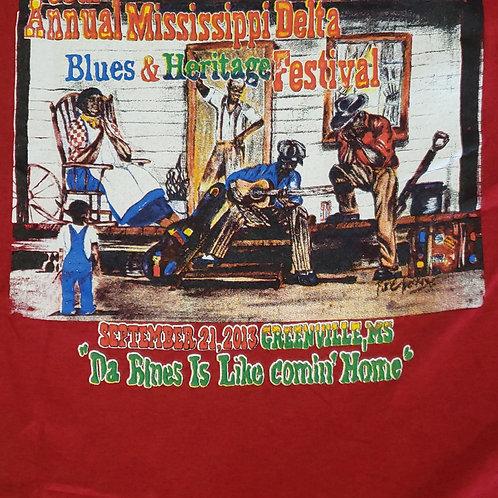 2013 Mississippi Delta Blues T-Shirt