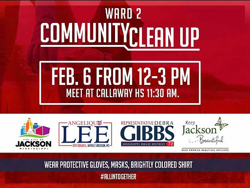 Ward 2 Community Cleanup