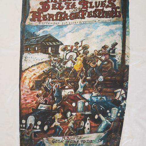 2008 Mississippi Delta Blues T-Shirt