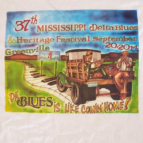 2014 Mississippi Delta Blues T-Shirt