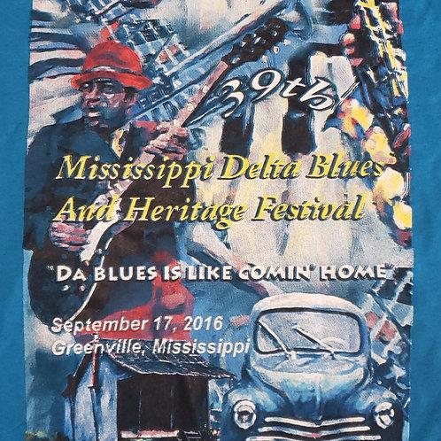 2016 Mississippi Delta Blues T-Shirt